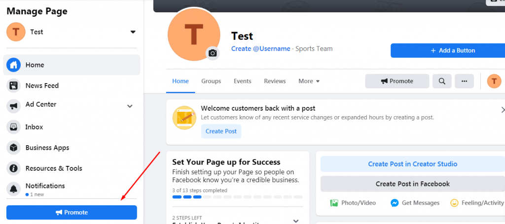 Cum construiesti prima reclama de promovare pe Facebook