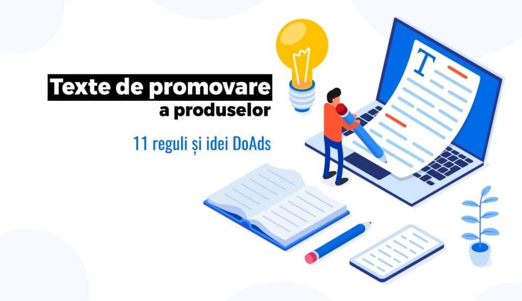 texte de promovare a produselor